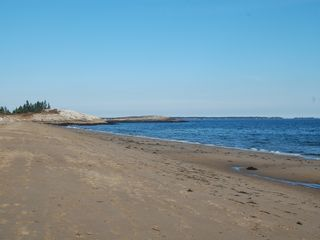 Georgetown house photo - Mile Beach at Reid State Park, 5 minutes away. Park pass included with rental.
