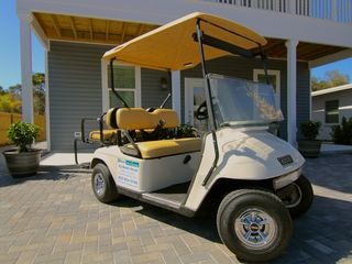 Crystal Beach house photo - Street Legal Golf Cart Included Seats 4