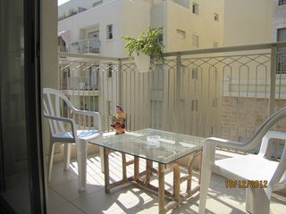 Tel Aviv apartment photo - living room balcony