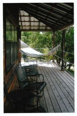 Dripping Springs house photo - Front Porch with hamock