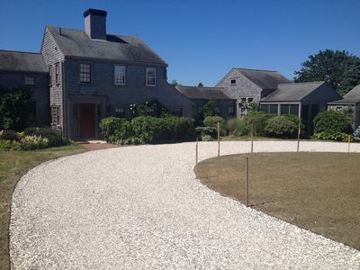 60 Cliff Road- New circular driveway just installed (6-20-12).