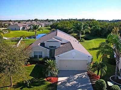 Bradenton villa rental - Front overview