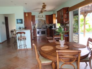 Rincon villa photo - Gourmet kitchen & dining area