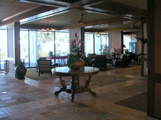 Lahaina condo photo - the lobby