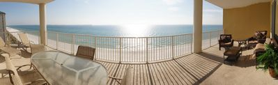 Wide Angle Deck View