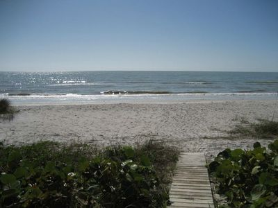 BEACHVIEW from VILLA SANIBEL 1-A LANAI - OCEANFRONT