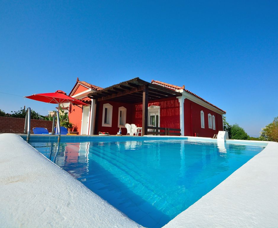 Air-conditioned accommodation, 90 square meters , Sámos, Greece