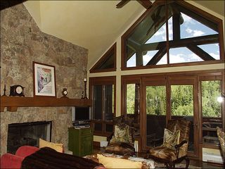 Avon house photo - Large Great Room with Mountain Views