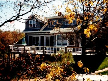 Oak Bluffs house rental - Rear of Home Facing Cape Cod & the Sound