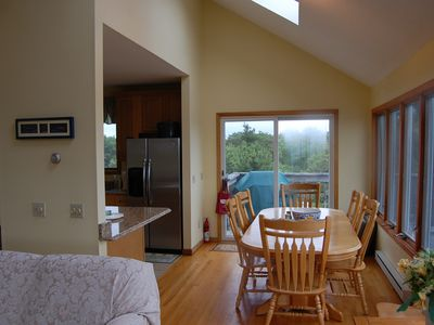 Edgartown house rental - Open Kitchen / Dining Area