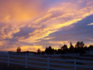 Newberg house photo - We enjoy both amazing sunrises and sunsets. Come to the country and enjoy!