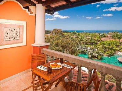 Tamarindo townhome rental - Your Penthouse has 50 feet of Balconies with unobstructed views of the Sea.