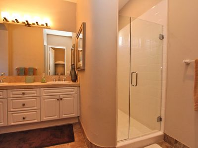 Secondary Master shower and vanities