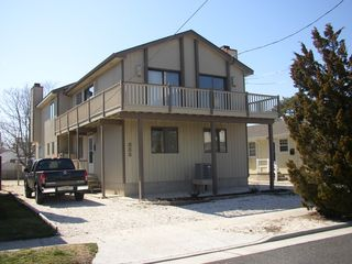 Stone Harbor townhome photo - Off street parking for two cars!