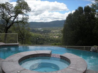 Mountain View from the Pool & Jacuzzi