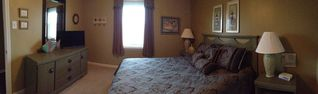 Orange Beach condo photo - Master bedroom, queen bed, flat screen tv, ceiling fan, all linens, view of beac