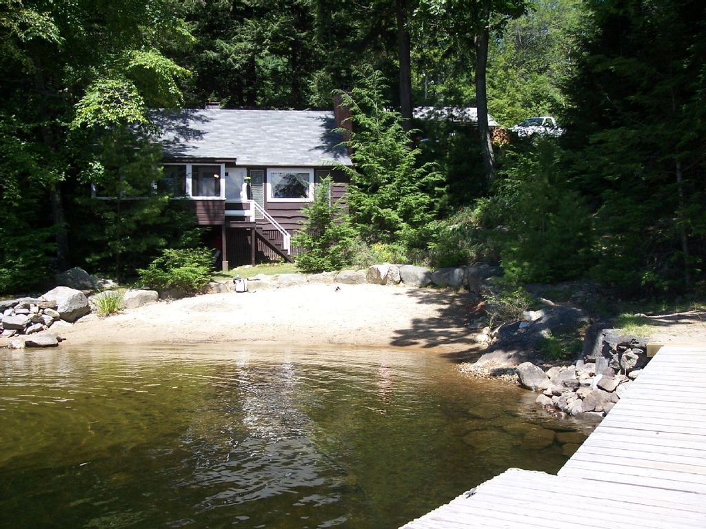 Waterfront Cabin W Beach Great View Homeaway