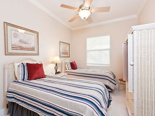 Palm Coast condo photo - Bold stripes stand out in our 3rd bedroom