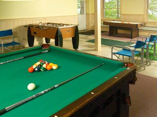 Raymond lodge photo - Anybody for Pool, Fooseball , Ping-Pong or Air Hockey?