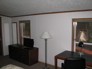 "Sturgeon Lake lodge photo - Main Living Room with 42"" flat screen/dvd and Direct TV!"