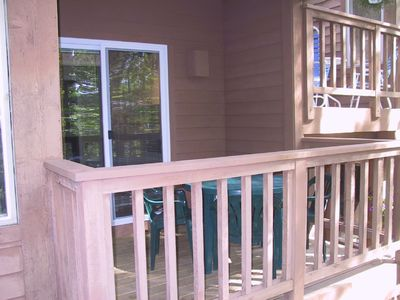 Glen Arbor condo rental - Porch