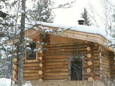the wood fired traditional Finnish sauna