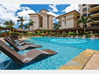Kapolei villa photo - Heated Lap Pool & Water Loungers