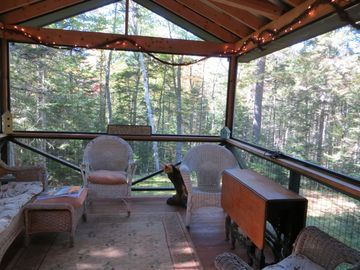 Private Screen Porch