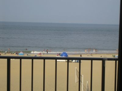 A great unobstructed view from the Balcony to Atlantic Ocean