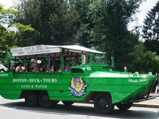 Boston Duck Boat Tours amphibious and historic tours of Boston roads/waterways