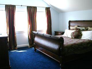 Hampton Bays house photo - Master bedroom with king bed