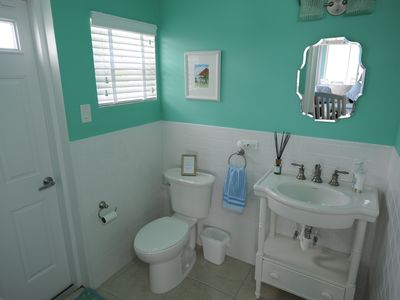 Grand Cayman villa rental - Half Bathroom off Living Room