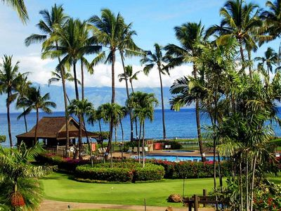 View of Papakea grounds from your lanai