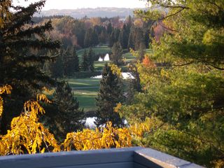 Traverse City condo photo - View from private balcony at Grand Traverse Resort Golf Cource.