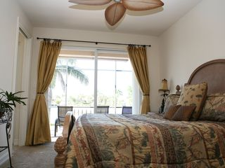 Vacation Homes in Marco Island house photo - First Floor Waterfront Bedroom with King Size Bed
