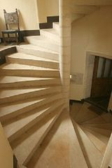 Saint-Martory castle photo - Staircase 2