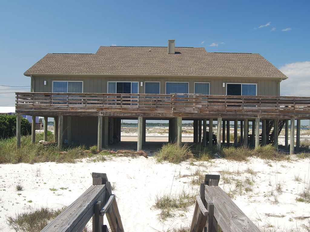 Nabers Beach House Gulf Front Navarre Beach 43 Sleeps 10