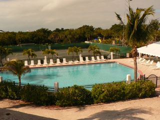 North Captiva Island house photo - One of two North Captiva Island Club Pools and Har Tru Tennis Courts