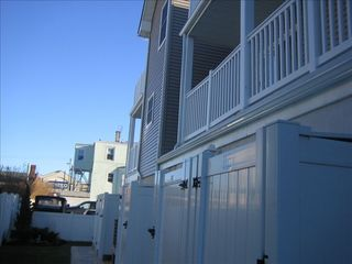 View of Master and Queen bedroom balcony - Wildwood condo vacation rental photo