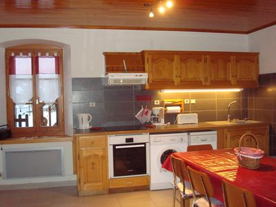 Rent 2 apartments in house Morillon 2-15 pers.