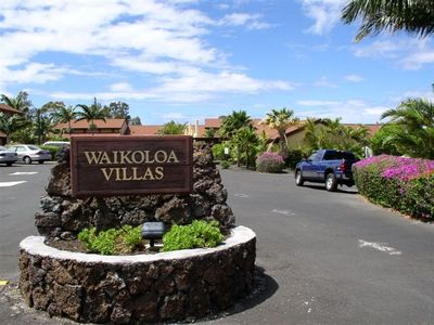Entrance to Waikoloa Villas