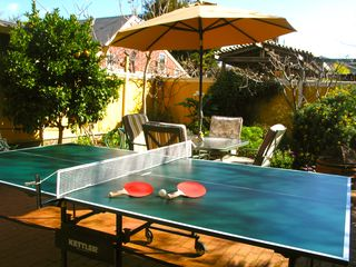Santa Cruz cottage photo - Ping pong for your enjoyment! COMPLIMENTARY Monterey Bay Aquarium passes
