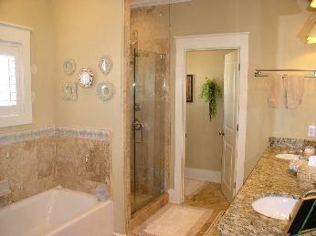 Master Bath private retreat will soak your worries away