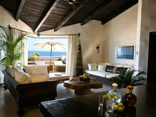 San Jose del Cabo apartment photo - Penthouse Living Room at the Cabo Azul Resort