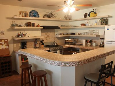 Kitchen Island and Bar
