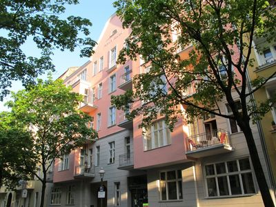 Charming 2-room city-apartment in an Art Nouveau house, very central, very quiet