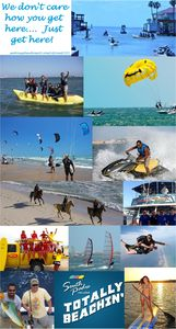Just some of the activities you can find at South Padre Island!