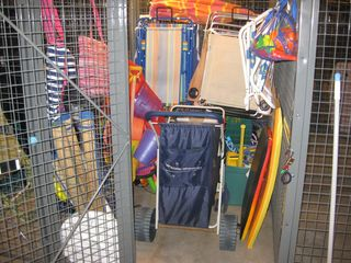Gateway Grand Ocean City condo photo - No need to pack beach gear it's all here in this fully stocked locker for you.