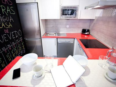 Modern Open Kitchen fully equipped. Ready to have Breakfast!!!