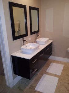 New vanity installed in July 2012